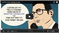 Save money on gas video blog