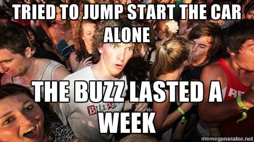 Delta Towing Houston jump start meme